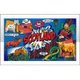Scotland Pop Art