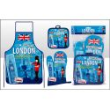 London Scrapbook Apron sets